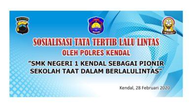 Photo of SMK N 1 KENDAL, SIAP JADI PIONIR SEKOLAH TAAT LALU LINTAS