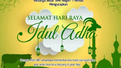 Photo of SELAMAT HARI RAYA IDUL ADHA 1441 H / 2020 M